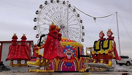 Preparatory work for children's amusement park