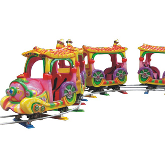 Track Cartoon Train