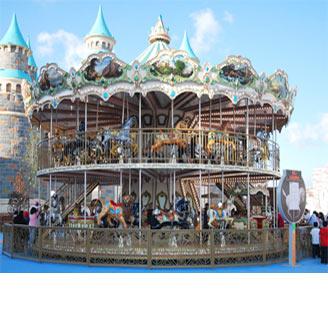 Popular Double Deck Carousel